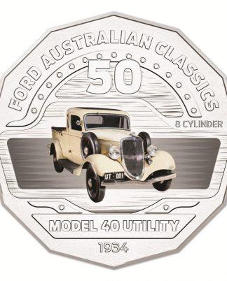 50c 2017 Ford Australia - Model 40 Utility
