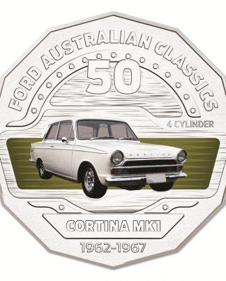 50c 2017 Ford Australia - Cortina Mk1