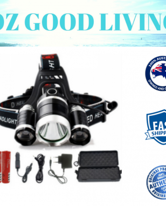 ultrabright headlamp torch